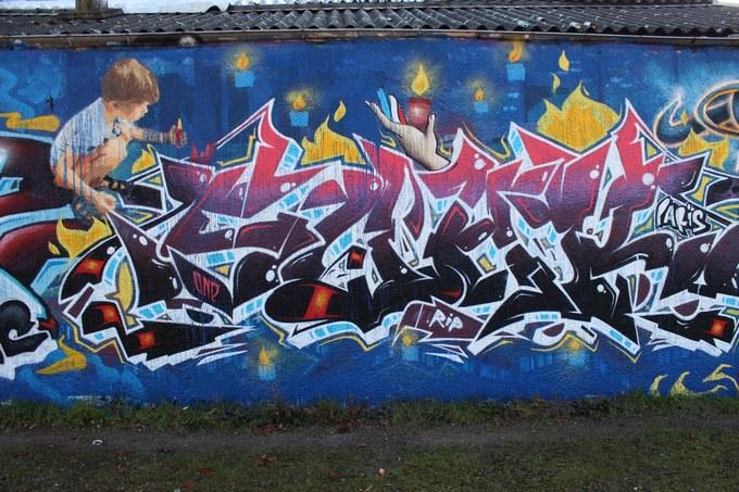 big ben srteet art - le mur 690 F 2015