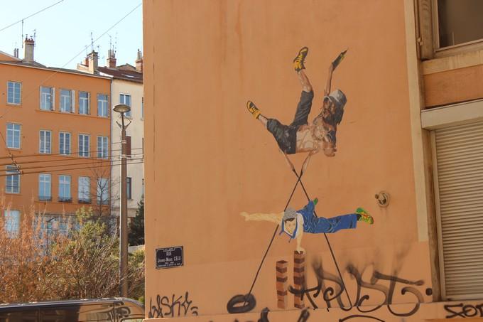 big ben street art - 3000 D - 2016