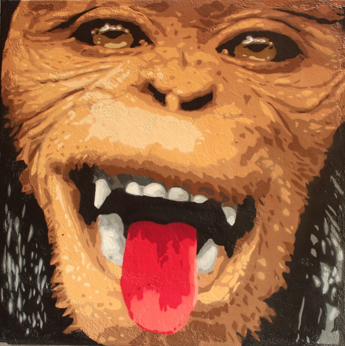 big-ben-street-art-animal-sone-le-singe