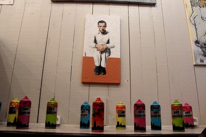 big ben street art- artigone 4