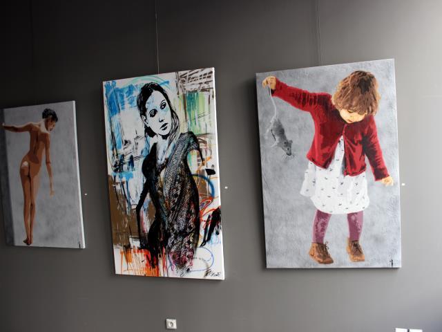 bigbenstreetart - expo SBK 2014 indoor