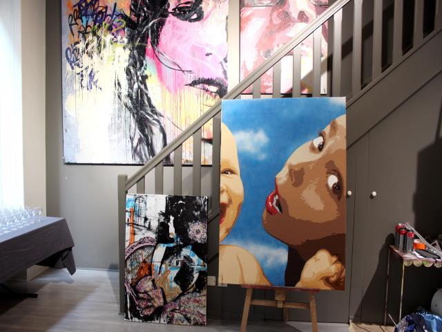 bigbenstreetart - upercut 2014 indoor
